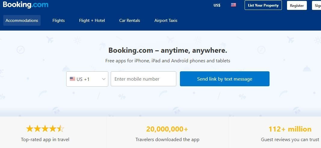 booking experiences