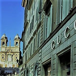Luxury shopping in Rome