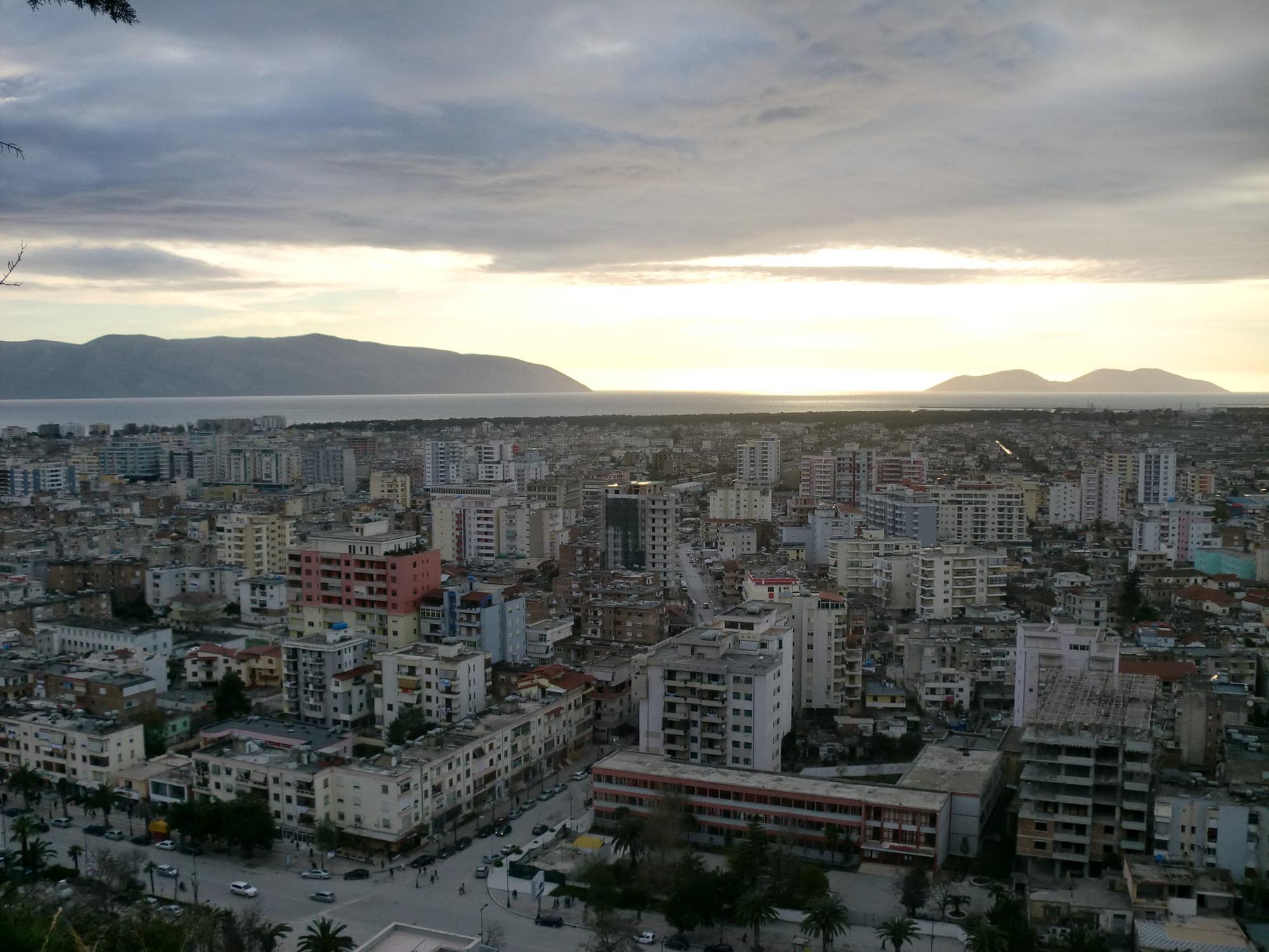 vlora view from kuzum baba